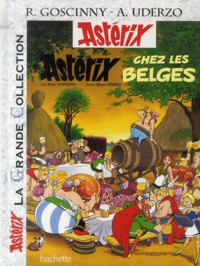 Couverture Astérix tome 24 grande collection - Astérix chez les les Belges