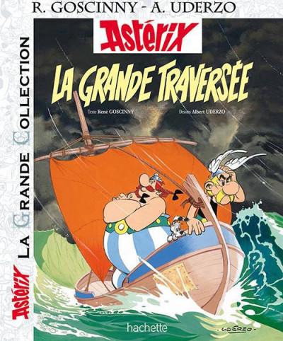 Couverture Astérix tome 22 grande collection - la grande traversée