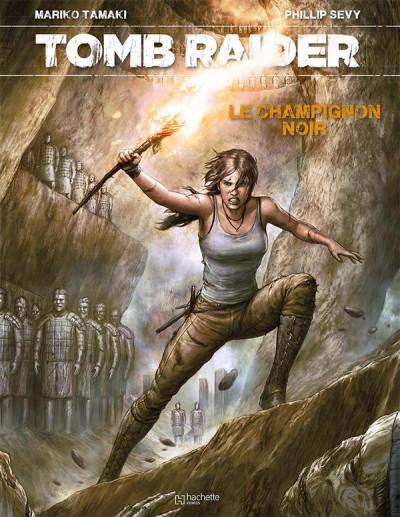 Couverture Tomb Raider - Le champignon noir