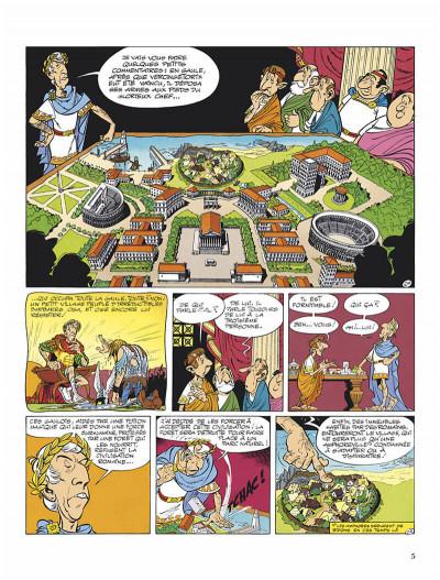 Page 8 Astérix - édition spéciale tome 17 - le domaine des dieux