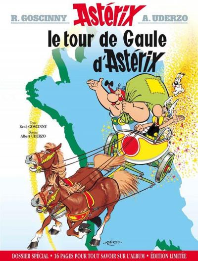 Couverture Astérix - édition spéciale tome 5 - le tour de Gaule