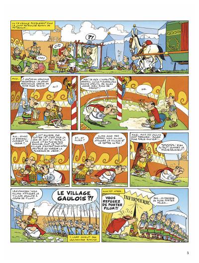 Page 8 Astérix - édition spéciale tome 5 - le tour de Gaule