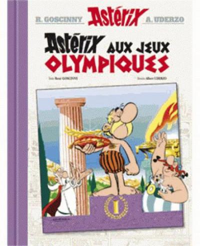 Couverture Astérix tome 12 - Astérix aux jeux olympiques - édition de luxe