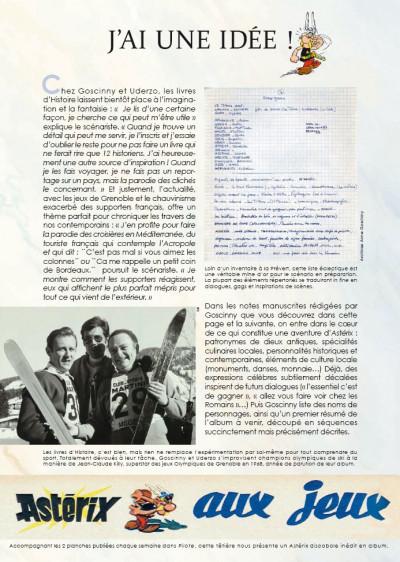 Page 4 Astérix tome 12 - Astérix aux jeux olympiques - édition de luxe