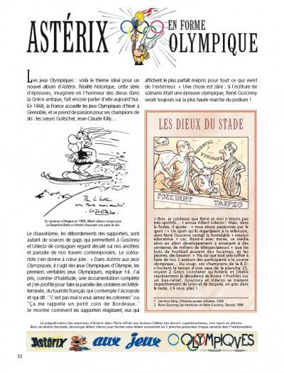 Page 1 Astérix - édition spéciale tome 12 - Astérix aux jeux olympiques