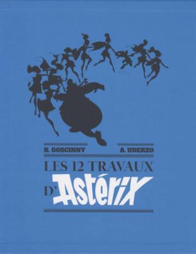 Couverture Les 12 travaux d'Astérix - artbook édition de luxe