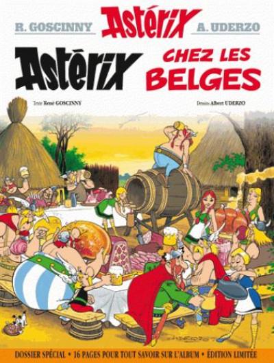 Couverture Astérix - édition spéciale tome 24 - Astérix chez les Belges