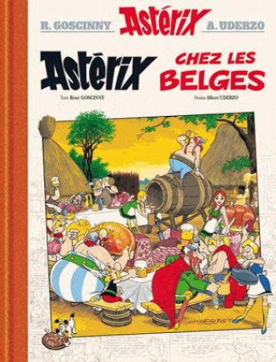 Couverture Astérix - édition de luxe tome 24 - Astérix chez les Belges