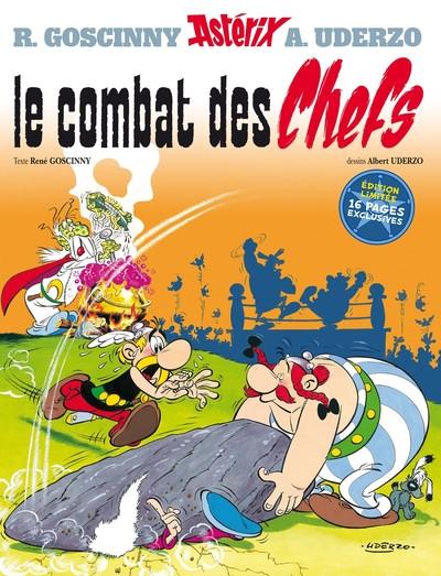 Couverture Astérix - édition spéciale - Le combat des chefs