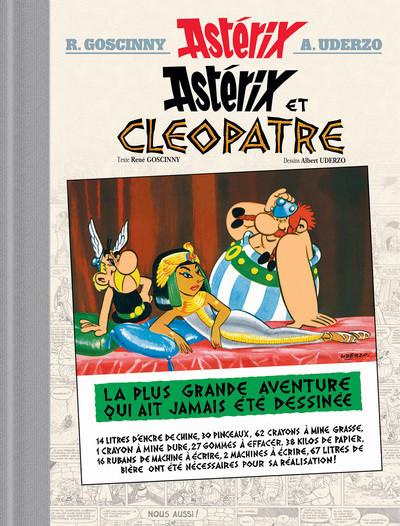Couverture Astérix - édition de luxe tome 6 - Astérix et Cléopâtre