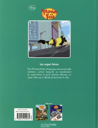 Dos Phineas et Ferb tome 3 - Les Super Héros