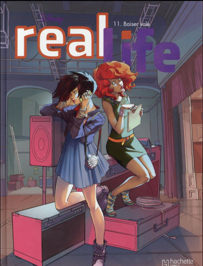 Couverture Real life tome 11