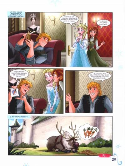 Page 1 La reine des neiges tome 5