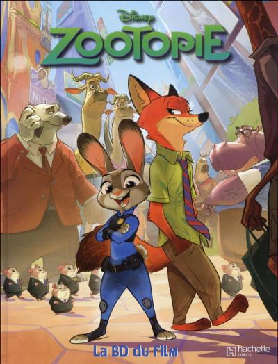 Couverture Zootopie