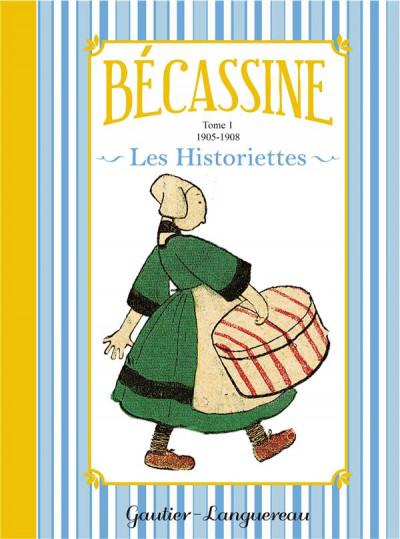 Couverture Bécassine - les historiettes tome 1