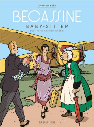 Couverture Bécassine - baby sitter