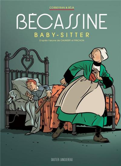 Couverture Bécassine - baby sitter (édition luxe)