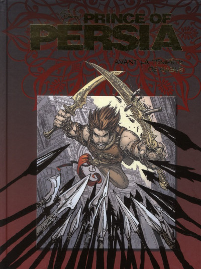 Couverture prince of Persia