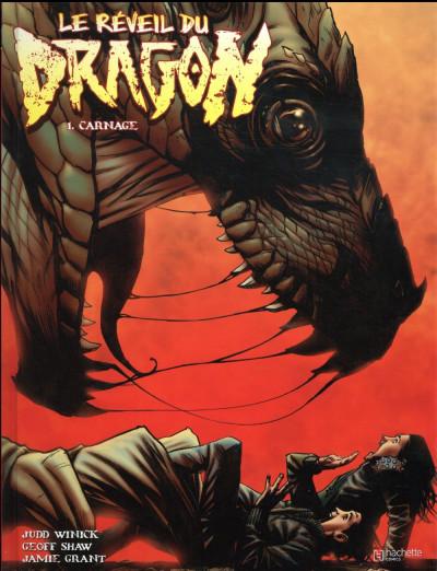Couverture Le réveil du dragon tome 1