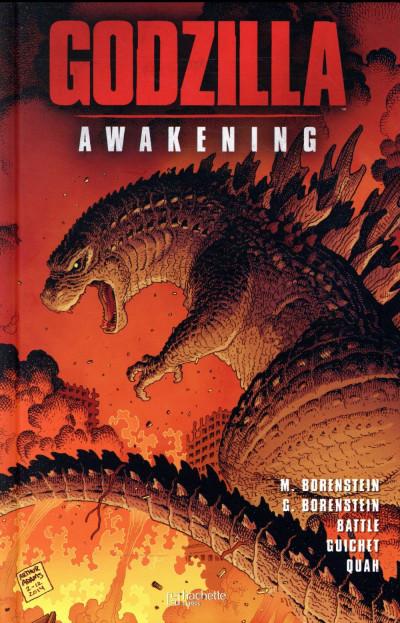 Couverture Godzilla awakening