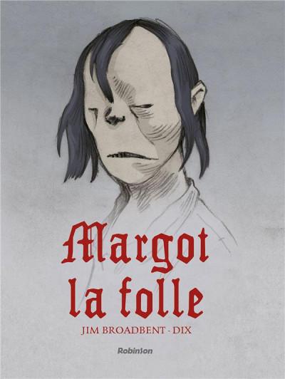 Couverture Margot la folle
