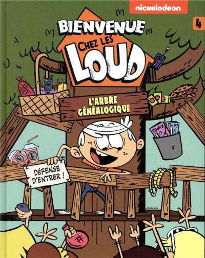Couverture Bienvenue chez les Loud tome 4