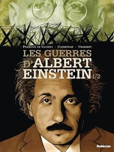 Couverture Les guerres d'Albert Einstein tome 1
