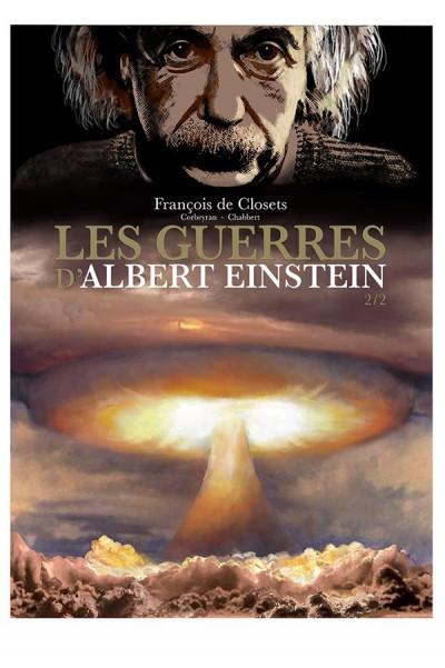 Couverture Les guerres d'Albert Einstein tome 2