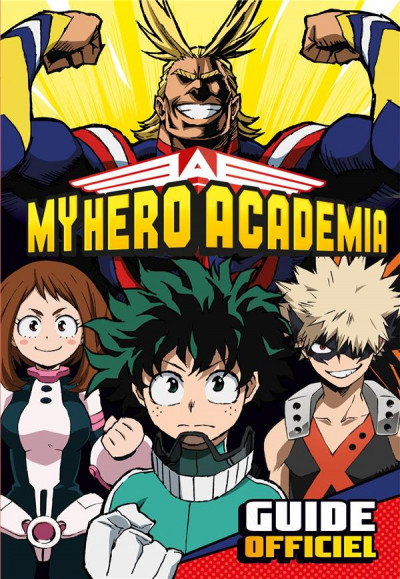 Couverture My hero Academia - Guide officiel
