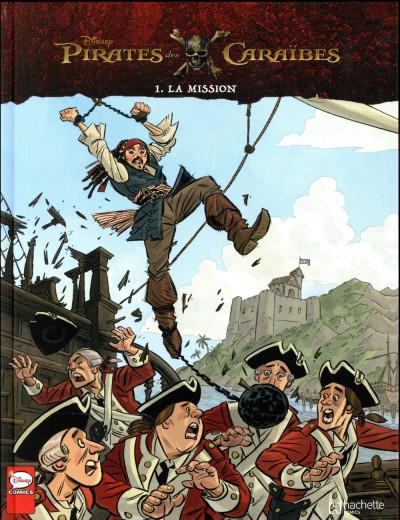 Couverture Pirates des Caraïbes tome 1