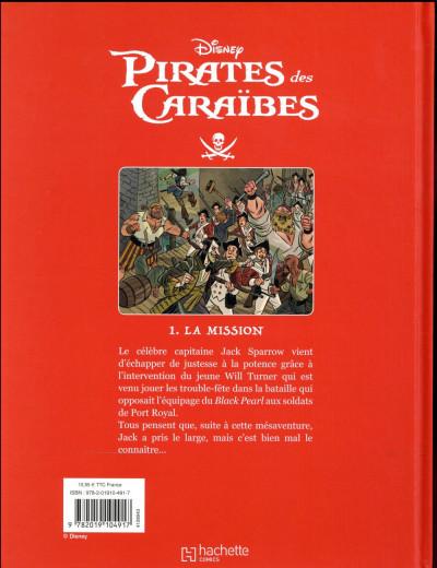Dos Pirates des Caraïbes tome 1