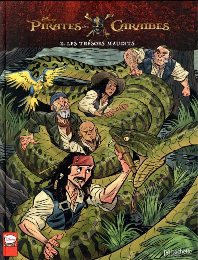 Couverture Pirates des Caraïbes tome 2
