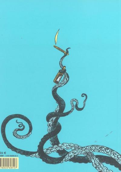 Dos L'ivresse du poulpe - une aventure de Jeanne Picquigny