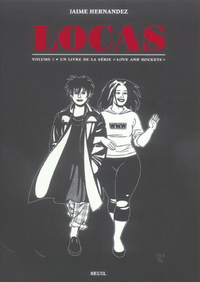 Couverture love and rockets - locas tome 1