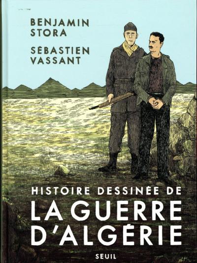 Couverture Histoire dessinée de la guerre d'Algérie