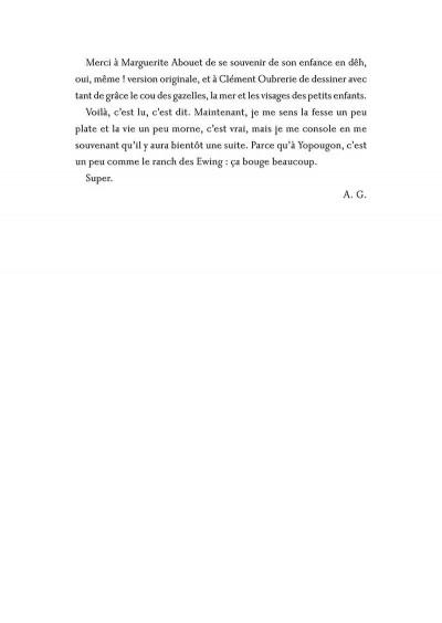 Page 3 Aya de yopougon tome 1