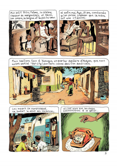 Page 7 Aya de yopougon tome 1