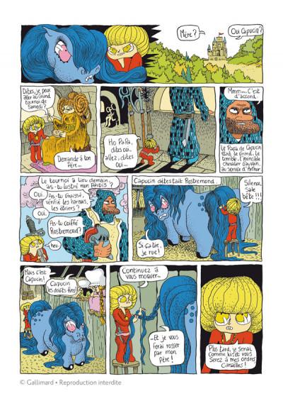 Page 1 Capucin tome 1 - la mauvaise pente