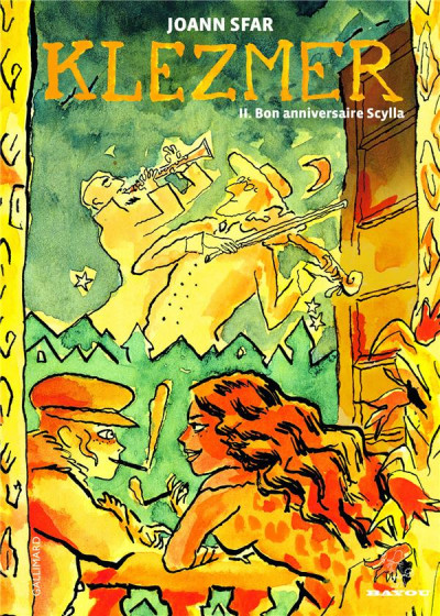 image de Klezmer tome 2 - bon anniversaire scylla