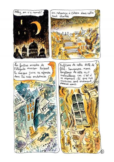 Page 4 Klezmer tome 2 - bon anniversaire scylla