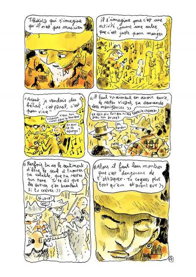 Page 6 Klezmer tome 2 - bon anniversaire scylla