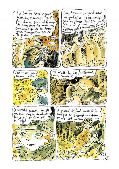 Page 7 Klezmer tome 2 - bon anniversaire scylla