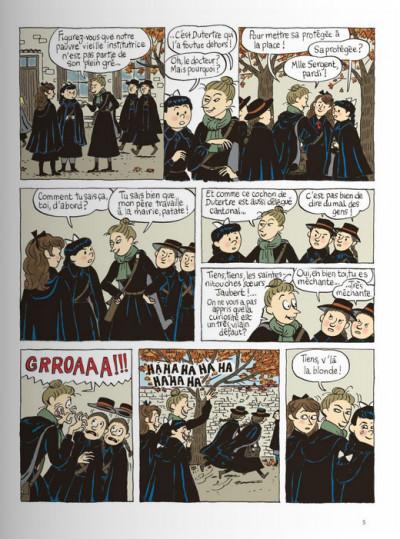 Page 3 Claudine à l'école