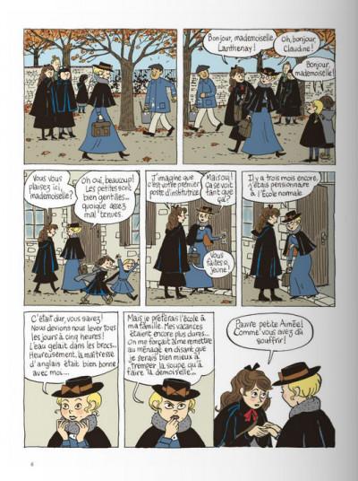 Page 4 Claudine à l'école