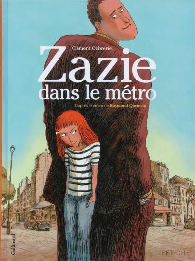 image de Zazie dans le métro