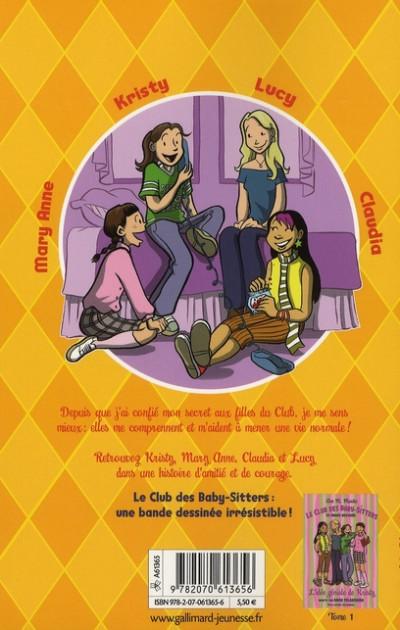 Dos Le club des baby-sitters tome 2 - le secret de lucy