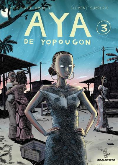 Couverture Aya de yopougon tome 3