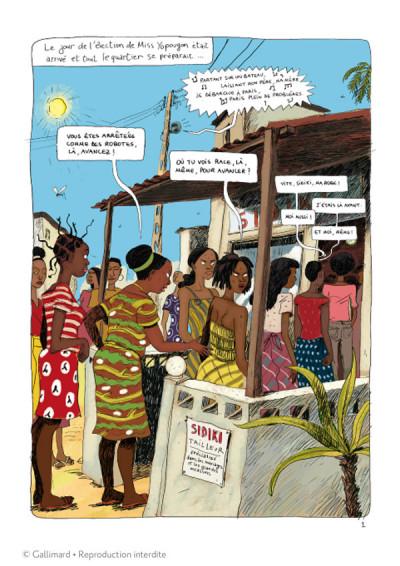 Page 1 Aya de yopougon tome 3