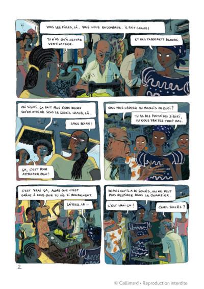 Page 2 Aya de yopougon tome 3