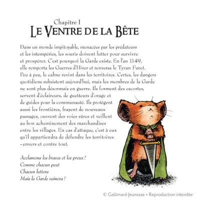 Page 1 Légendes de la garde tome 1